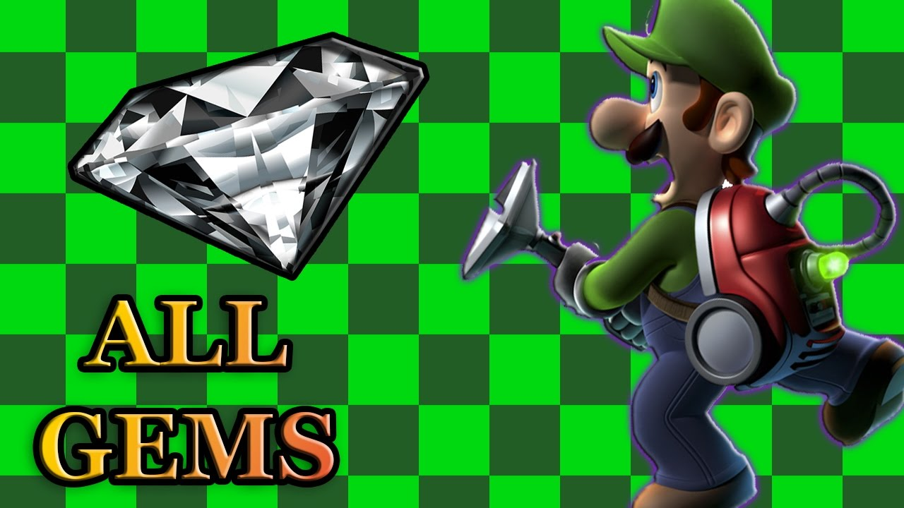 Luigi S Mansion Dark Moon All Gem Locations Complete Guide