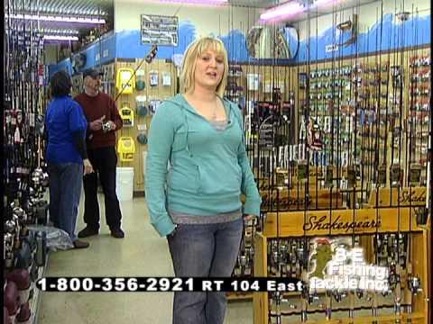 """B-E Fishing Tackle Commercial 1-1 """"Women"""""""