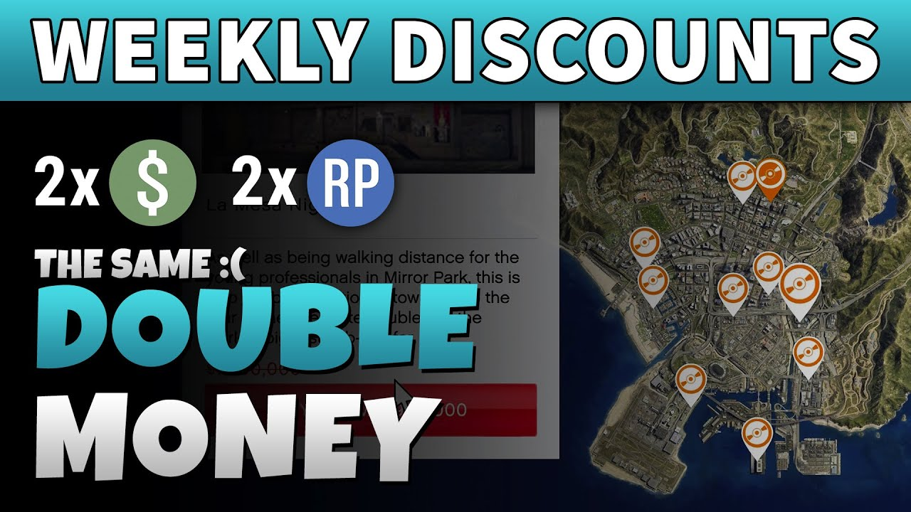 GTA DOUBLE MONEY & DISCOUNTS | GTA ONLINE Weekly Update (Cayo Perico DLC Update Coming Soon)