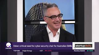 Why SMBs Need A Cybersecurity Ambassador   Mick Esber Interview For Ausbiz