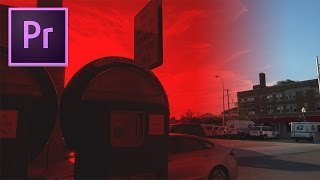 Адобе прем'єрі про СС туторіал: як відтінок кольору відео з ефектом відтінок
