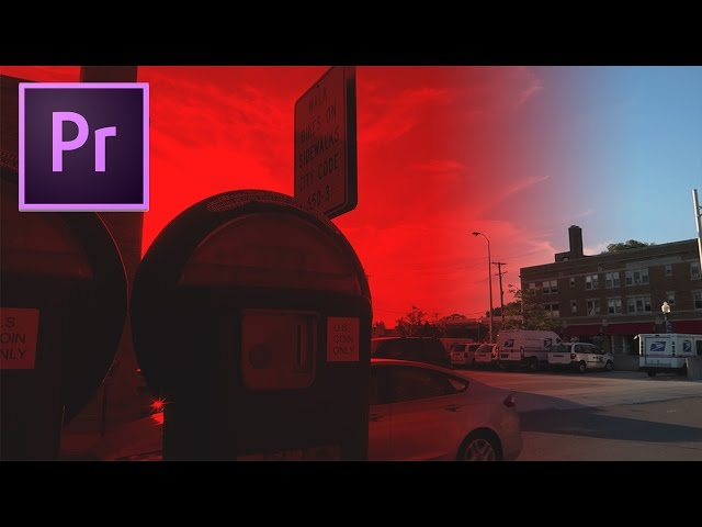 Adobe Premiere Pro CC Tutorial: How to Color Tint Video with the Tint Effect