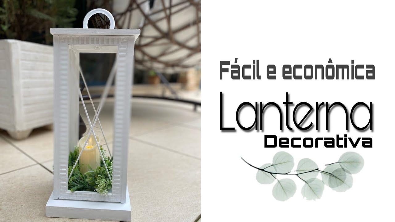 Decoração/ Lanterna decorativa