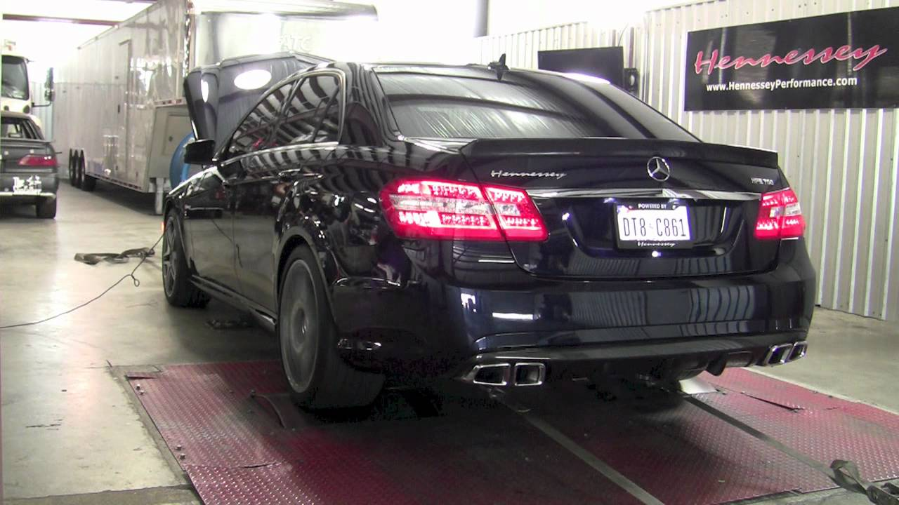 2012 AMG E63 with Hennessey Upgrade  Dyno Testing  YouTube