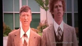 EVEN NAPOLEON DYNAMITE CAN'T STAND BILL GATES, ANOTHER CRINGE MOMENT
