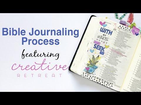 Seek Him I Creative Retreat Kit Process
