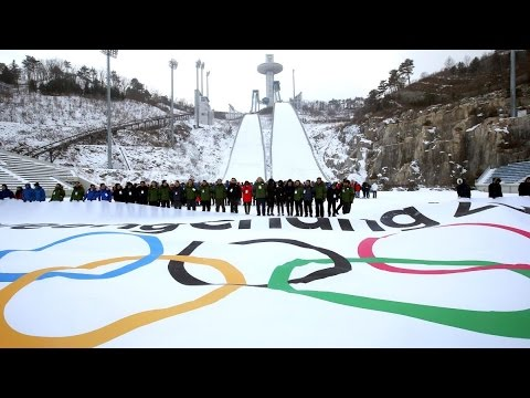 Корея готовится к Олимпиаде 2018 / Winter olympics 2018 / 2018年冬季オリンピック