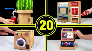TOP 20 Amazing Cardboard Videos in The World