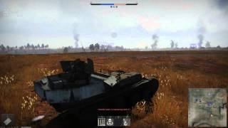 Dome: War Thunder Ground Forces - Germany Gepard AA gameplay 2 (5 mins)