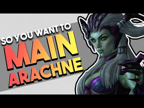 So You Want To Main Arachne | Builds | Counters | Combos & More! (Arachne SMITE Guide)