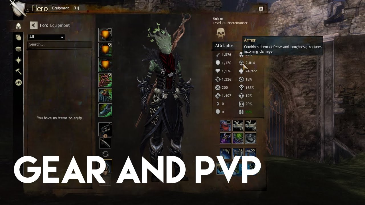Guild Wars 2 sPvP: How Does Gear Work In PvP ?
