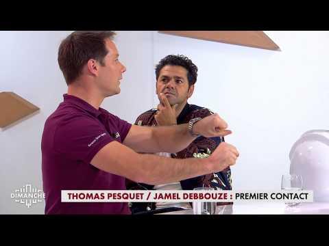 Thomas Pesquet  Jamel Debbouze : premier contact   Clique Dimanche du 1012  CANAL