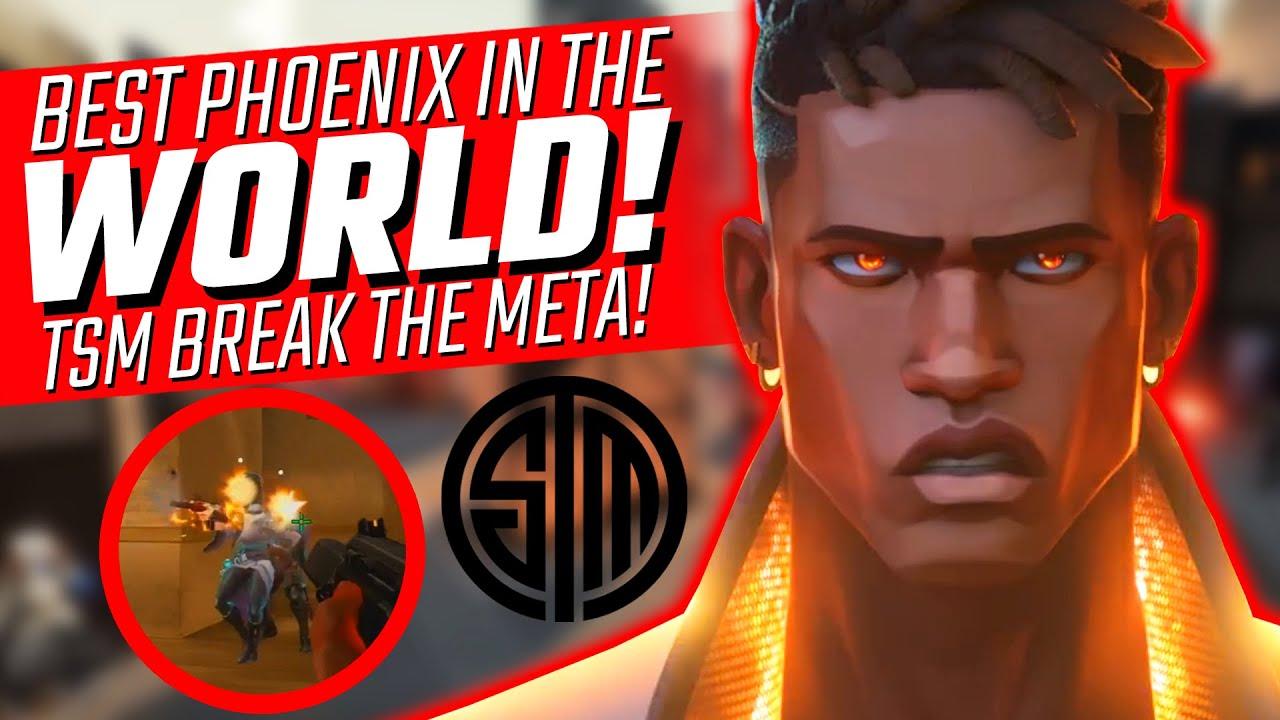 Valorant: The BEST Phoenix in the WORLD! - How TSM Broke the META!