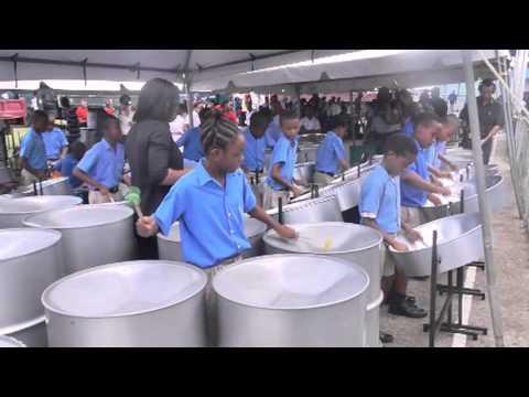 NGC Sanfest Steelband Finals 2013.  Trinidad & Tobago