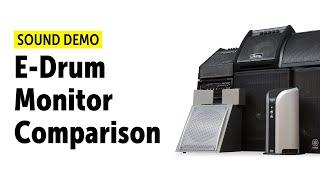 E-Drum Monitor Comparison (shootout) Sound Demo