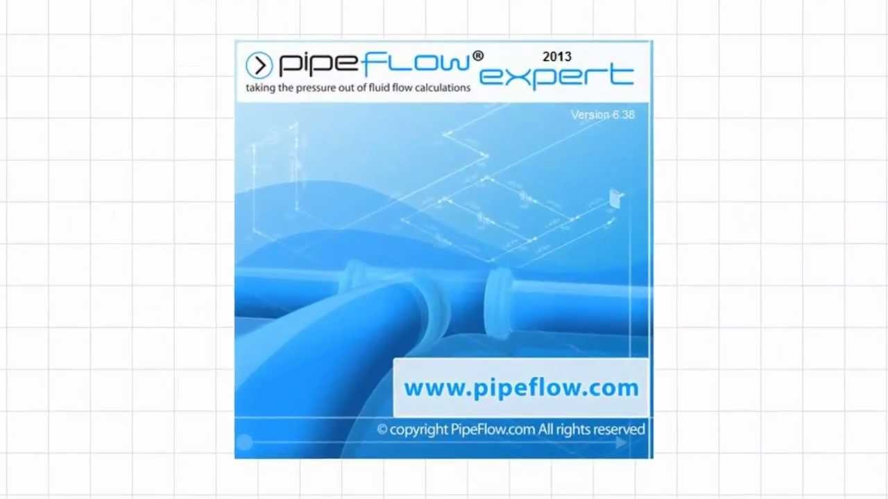 pipe flow expert software model pipe networks calculate flow pressure drop [ 1280 x 720 Pixel ]
