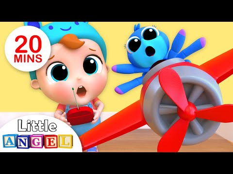 Itsy Bitsy Spider Nursery Rhyme +More Kids Songs by Little Angel