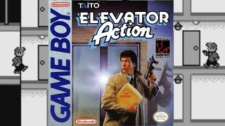Elevator Action | Game Boy | Natsume / Taito Corporation | 1991