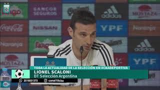 Lionel Scaloni definió el papel de Paulo Dybala en la selección