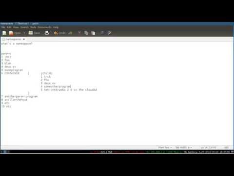 Linux Sysadmin Basics -- LXC 2: Namespacing and Your First Container