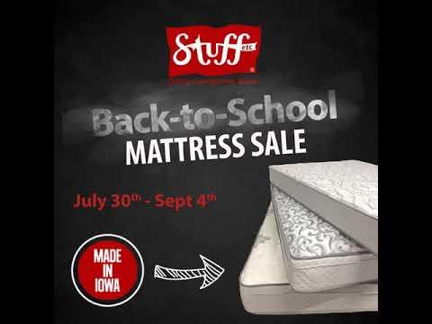 Back To School Mattress