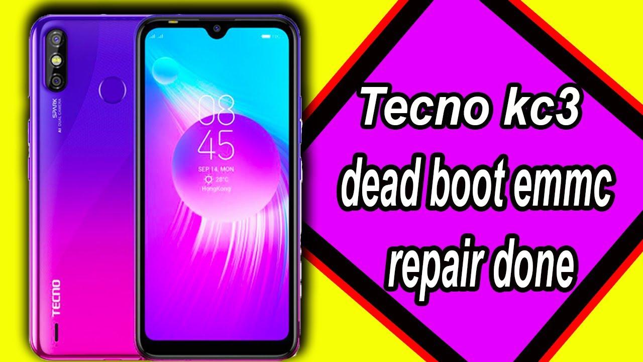 Tecno Kc3 Dead Boot Emmc Repair Done..MOBILE SERVICING TRAINING CENTER..