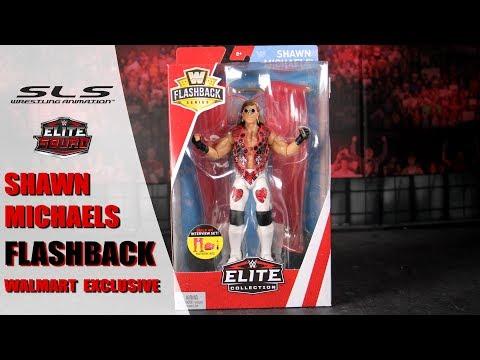 BAF WWE Mattel Elite Flashback Walmart Exclusive HBK Shawn Michaels Figure