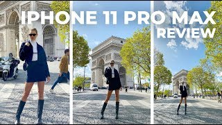 iPhone 11 Pro Max Review + Unboxing (ft. Paris Fashion Week) | Karlie Kloss