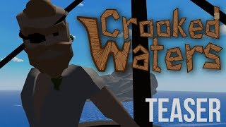 Crooked Waters Teaser - Online pirate VR game thumbnail