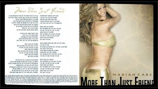 Mariah Carey - More Than Just Friends [EP 3-Tracks]