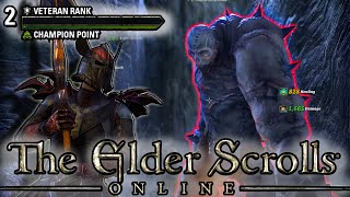 BOSS BATTLES FOR VETERAN RANK 2!!! (Elder Scrolls Online Ranking up Funny Montage)