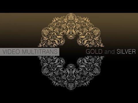 FOREVER Multi Trans Metallic Gold, Silver & Bronze   For Hard Surface transfers 360p
