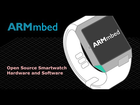 ARM mbed Smartwatch reference design with 2 months battery life