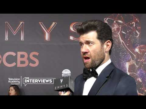 "Emmy nominee Billy Eichner (""Bill on the Street"") on his comedic influences - 2017 Primetime Emmys"