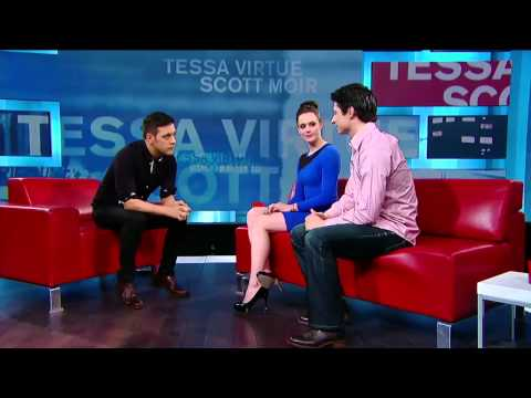 Tessa Virtue and Scott Moir on George Stroumboulopoulos Tonight: INTERVIEW