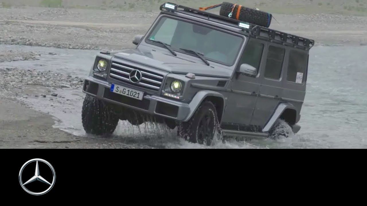 Mercedes benz g class adventure travel with mike horn for Mercedes benz horn