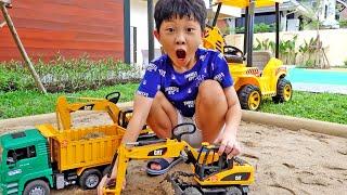 예준이의 자동차 장난감 트럭놀이 조립놀이 게임 플레이 Toy Pretend Play with Car Toy Game Play