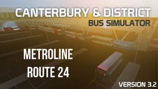 Roblox: Canterbury & distretto | Metroline Route 24