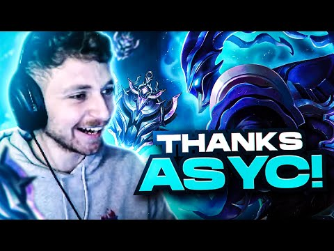asyc might have made me into a high elo support
