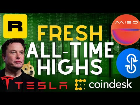 Tesla Buys Bitcoin, Elon $DOGE Spark Bull, MISO Sushiswap, Tether Freezes Funds, Coindesk TV