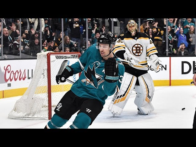 Logan Couture converts on penalty shot