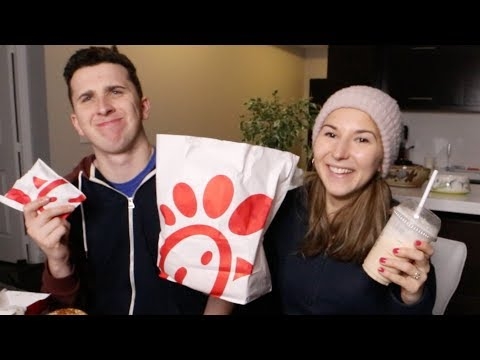 Canadians Try Chick Fil A For The First Time..