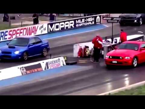 Subaru WRX VS Ford Mustang GT Drag Race - YouTube on ford wrangler price, ford f-250 price, 2002 mustang price, fisker mustang price, ford ltd price, ford gt350 price, hummer price, ford f-350 price, toyota f1 price, ken block mustang price, chevy s10 price, 1994 mustang price, dodge mustang price, ford f-150 fx4 price, ford e-250 price, ford probe price, ford f 450 price, 1989 mustang price, ford lightning price, gt350 mustang price,