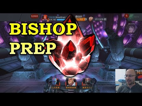 Bishop Prep: 5 star Opening + Rank Ups | Marvel Contest of Champions