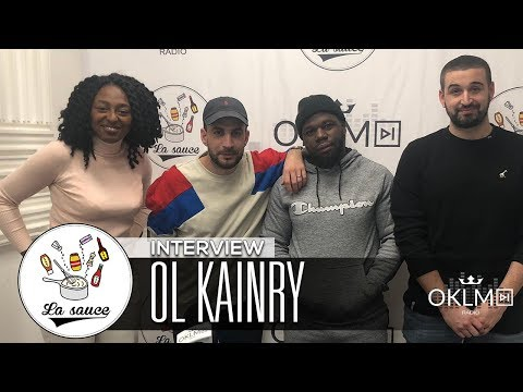 "OL KAINRY (""Raftel"", statut d'ancien, le rap du 91, Aya Nakamura...) - #LaSauce sur OKLM Radio"