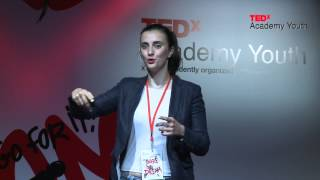 Η κοινωνία μας μπορεί να αλλάξει | Ιωάννα Φωτοπούλου | TEDxYouth@Academy