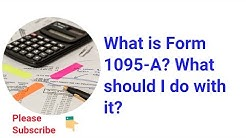 What are 1095 Tax Forms for Health Care 1095 A, 1095 B, 1095 C
