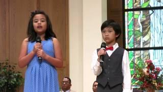 """2015-05-23 James Naibaho & Megan Aritonang  """"The Prayer"""""""