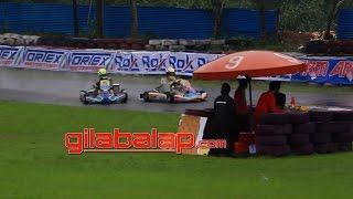 Insiden Agi Borneo Presley Martono Eshark Rok Cup Seri 1 2016