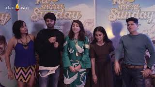 The Cast Of Tu Hai Mera Sunday Have A Laughter Riot With UrabanAsian